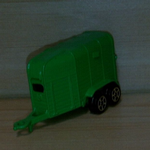 CORGI JUNIORS Horsebox green diecast model vgc @SOLD@